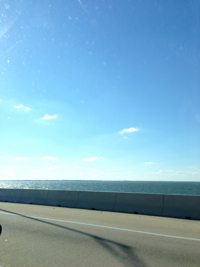 Beautiful drive. Somewhere around the Chesapeake bay maybe?
