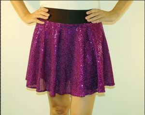 Yes, I want to wear a glitter skirt to the BolderBOULDER