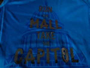 Run the Mall take the Capitol. (Sounds about right)