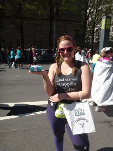 Half Marathon done and Tiffany's in hand!