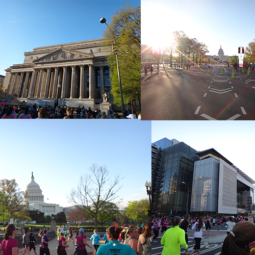National Archives, Newseum, and Capitol. We also ran by the National Gallery and a few others.... If I was Nicholas Cage I would of detoured to steal the Constitution but alas not enough time.