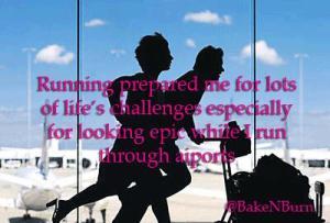 running prepared me