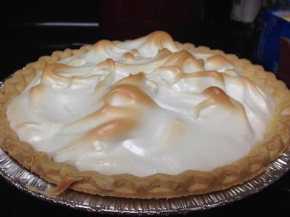 Fresh baked Lemon Meringue Pie!