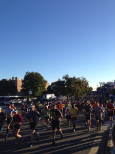 Look at all those runners!