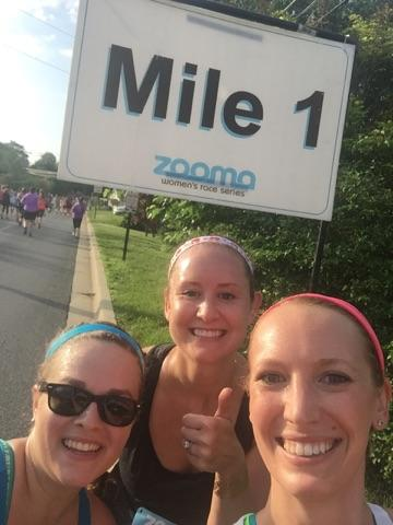 1 Mile down... 12 to go!